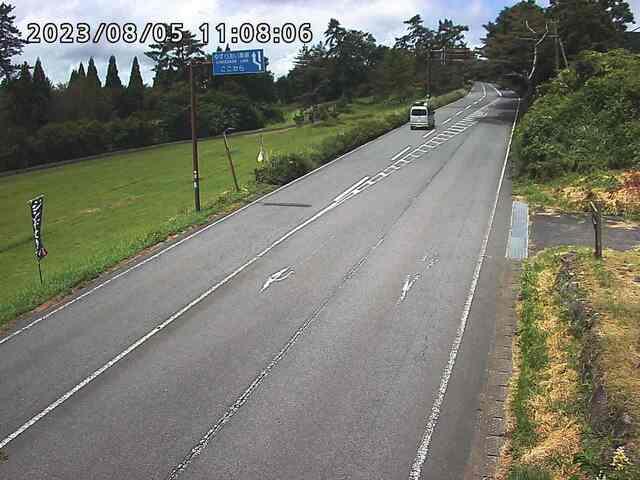 県道阿蘇くじゅう公園線交差点付近・ライブカメラ