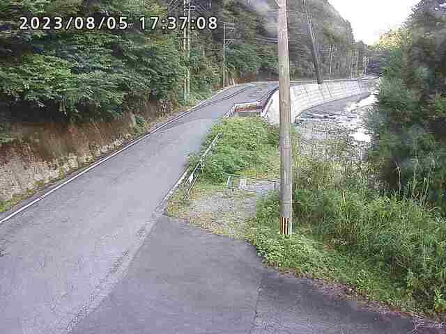 九酔渓十三曲がり北側(飯田高原中村線)・ライブカメラ